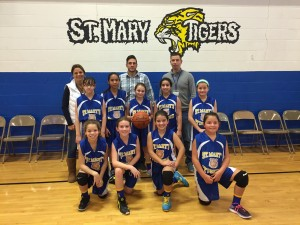 Girls Junior Division Team