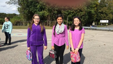 Wear Purple - Domestic Violence Out of Uniform Day