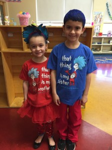 Jayla and Joel Character day